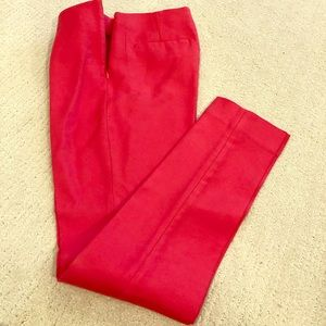 Pink pants banana republic size 0 never worn